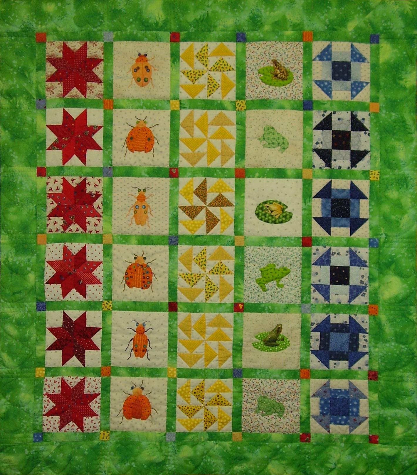 Kingston Heirloom Quilters : bug quilt - Adamdwight.com