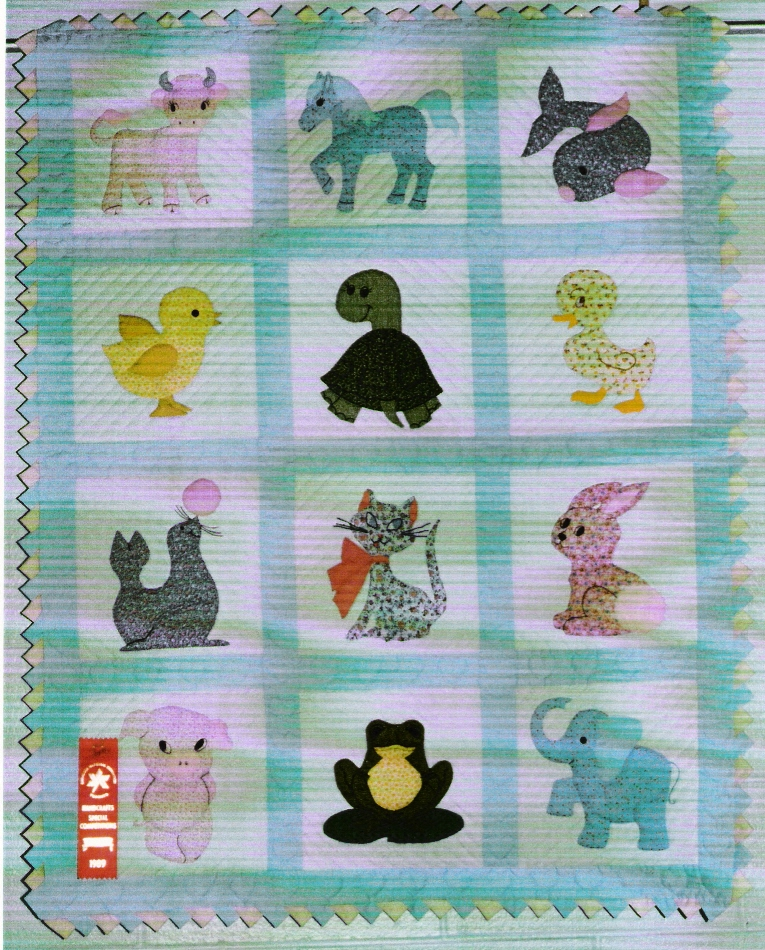 Free Patterns For Baby Quilts With Baby Animals images